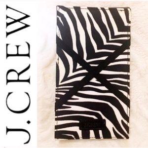 🆕 J. Crew Zebra Stripe Wallet